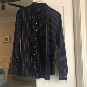 US polo slim fit button down